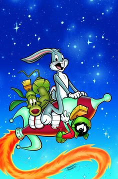 Bugs in space! Marvin the Martian visits his outer space neighbor Bugs Bunny to borrow a cup of sugar – and to take over the universe! With the help of K-9, will Marvin succeed? Or will one of Bugs' A