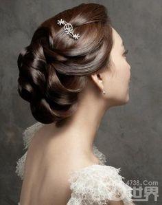 Bridal hair up-do hair-styles
