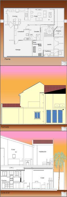 AMPLIACIÓN VIVIENDA OBJETIVO:  Ampliación/ remodelación de 158 m² de vivienda mas 31m² de exteriores. DESCRIPCIÓN: Remodelación: cocina, estar P1, cuarto de servicio y lavadero Áreas nuevas: Estar PB, habitación P1, piscina, área estancial PB, parrillera Contacto:  fmcbdesigns@hotmail.com      fmcbdesigns@gmail.com  Instagram: fmcbdesigns        Pinterest: fmcbdesigns Facebook: fmcbdesigns