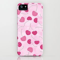 Wild Cherries iPhone & iPod Case by Lisa Argyropoulos - $35.00