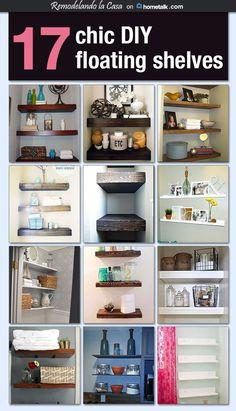 Diy Floating Shelves On Hometalk