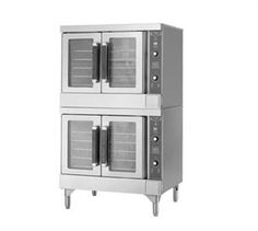 An essential piece of equipment for every commercial kitchen, the Vulcan Double Deck Electric Convection Oven gets the job done! 24 Inch Wall Oven, Gas Wall Oven, Electric Wall Oven, Wall Ovens, Commercial Cooking Equipment, Commercial Ovens, Tall Cabinet Storage, Locker Storage, Lugares