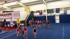 Shipwreck Game at RGA in Asheboro Perfect for a warmup, a fun game rewarding your students for hard work, PE Class, or at Gymnastics Birthday Parties! Gymnastics Warm Ups, Gymnastics Games, Gymnastics Academy, Gymnastics Birthday, Gymnastics Coaching, Amazing Gymnastics, Gymnastics Things, Cheer Camp, Cheer Coaches