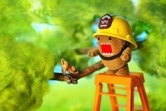 Domo Rescue #domokun #cute #kawaii #toys #domo