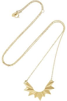 Maria Black Fine Jewelry Wing 18-karat gold necklace | NET-A-PORTER