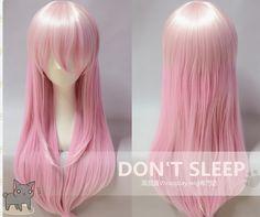 Super Sonico cosplay wig~! Kitty NEEEEEEDS *w*