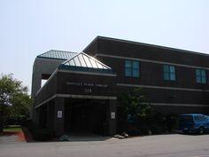 The new Danville Public Library, Danville, Illinois.