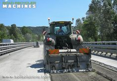 Milling the existing #pavement is a sustainable & ecological solution to road improvement www.soilsolutions.com