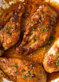 Another addition to my 15 Minute Meals and quick Chicken Breast recipes collection! This Honey Garlic Chicken breast recipe is long overdue. The Sauce in this is a variation of my Honey Garlic Salmon which I first shared way back when I Chicken Parmesan Recipes, Healthy Chicken Recipes, Cooking Recipes, Recipe Chicken, Easy Honey Garlic Chicken, Chicken Salad, Chicken Meals, Xhicken Recipes, Honey Garlic Sauce
