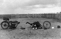 World War I Motorcycles in the Russian Empire - Iconic Photos