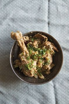 Rajasthani White Chicken Curry (Safed Maans)