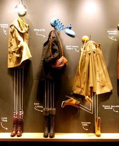 No mannequin - no problem. #fashion #retail #merchandising #windowdisplay