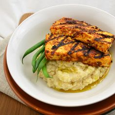 Cajun #Tofu over Celery Root Puree is the #vegan equivalent of meat and potatoes (but obviously better).
