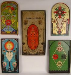 Vintage Collections — Game Boards (from Lost Found Art via please sir)