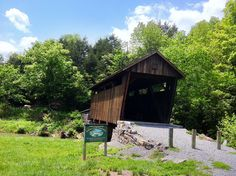 Indian Creek Covered Bridge south of Union, WV