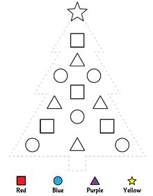 Trace and color this christmas tree, while practicing shapes and colors Shape Worksheets For Preschool, Shapes Worksheets, Preschool Learning Activities, Preschool Activities, Kindergarten Christmas Crafts, Christmas Math, Christmas Tree, Preschool Colors, Christmas Activities For Kids