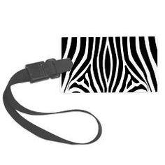 Zebra Large Luggage Tag > Luggage Tags > Izmet's Dream