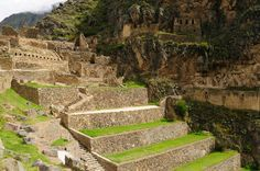 Peru, Sacred Valley, Ollantaytambo Inca Fortress Stock Image - Image of temple, famous: 24863773 Ancient Buildings, Ancient Architecture, Art And Architecture, Ancient Egypt Art, Ancient Ruins, Ancient History, Amazing Places On Earth, Inka, Ancient Mysteries