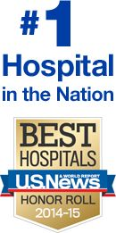 Number 1 hospital in the nation by U.S. News and World Report.  If you are suffering from complicated grief please read the next 7 pins.   DB
