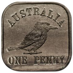 1921 Square Penny Type 12 Kookaburra Choice Unc.  Underpinned by fascinating history, distinctive composition, shape and design, the 1919-21 Kookaburra Square Pattern Series is one of the most important elements of Australian numismatics – and one of the rarest. Seldom seen on the market, this is one of the final types from this esteemed series, the 1921 Square Penny Type 12 – graded at Choice Uncirculated quality!  #rarecoins #rarecoin #rarity #numismatics