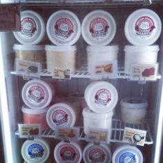 Island Creamery's unique ice cream flavours such as Horlicks, Teh Tarik, Burnt Caramel, Pulut Hitam ...