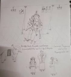 திருப்பாவை – Lavanya Rangaswami Drawings, Art, Art Background, Kunst, Sketches, Performing Arts, Drawing, Portrait, Resim