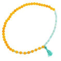 Tutorial - How to: Gemstone Tassel Necklace | Beadaholique