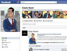 Clark Kent's FB