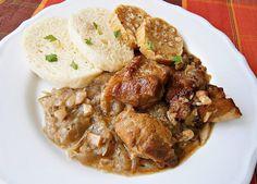 Zlínský moravský vrabec Polish Recipes, Stew, Pork, Menu, Treats, Ethnic Recipes, Diet, Cooking, Kale Stir Fry