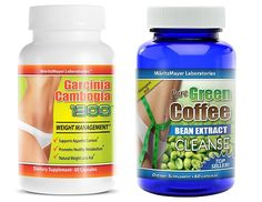 Pure Green Coffee Bean Extract Cleanse and Garcinia Cambogia Extract 1300 Appetite Suppressant Diet Pill => Huge discounts available at : Garcinia cambogia