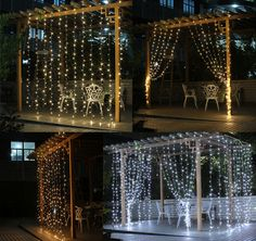 Cheap LED String, Buy Directly from China Suppliers:    110V or 220~240V Many Colors LED Curtain Light String 800 LEDs For Christmas Xmas Holiday Wedding Wedding Part