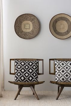 Handmade walldeco + graphic pillows