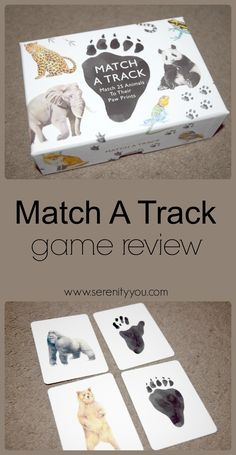 Match A Track Game Review #kids