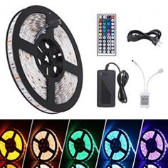 iHomy LED Flexible Light Strip RGB 300 LEDs SMD 5050 LED Strip Lights Waterproof Light Strips Kit LED ribbon Christmas Holiday Home Kitchen Car Bar Indoor Ceiling Party Decoration >>> Be sure to check out this awesome product. (This is an affiliate link) Rgb Led Strip Lights, Led Light Strips, Strip Lighting, Christmas Home, Christmas Holidays, Christmas Decorations, Car Bar, Led Flexible Strip, Led Christmas Lights