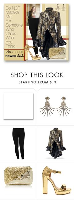"""""""Powerful me!"""" by interesting-times ❤ liked on Polyvore featuring St. John, Tara Lynn, Lanvin, M&Co, Anndra Neen and powerlook"""