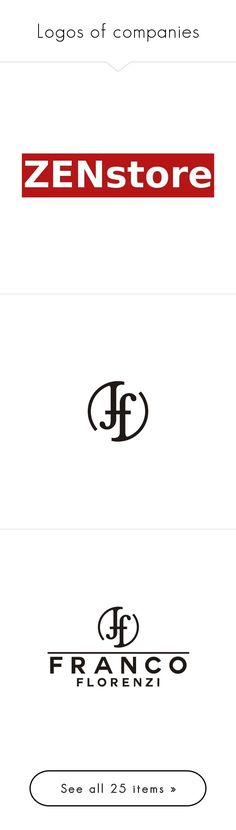 """""""Logos of companies"""" by ilona-828 ❤ liked on Polyvore featuring jewelry, bracelets, pin jewelry, logo, backgrounds, phrase, quotes, saying, text and logos"""
