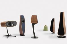 Davone Audio focuses on doing their speakers right, so they may not have a big catalog, but their speakers are beautiful and sound even better than they look. High End Speakers, Stereo Speakers, Wireless Speakers, Audio Design, Speaker Design, Geek Gadgets, Electronics Gadgets, Visual Thinking, Led Technology
