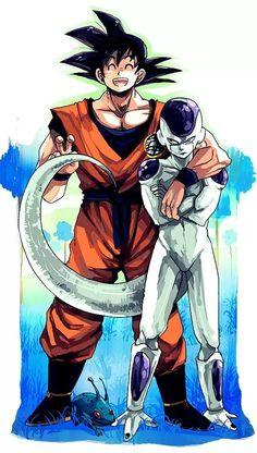 Goku and Frieza final form