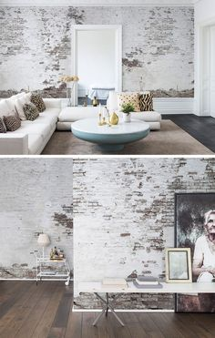 Industrial Ivory - My Home is my Castle - Deco Brick Wallpaper Tiles, Stone Wallpaper, Modern Wallpaper, Wall Wallpaper, Bedroom Wallpaper, Designer Wallpaper, Fotos Wallpaper, Foto 3d, Architecture Wallpaper