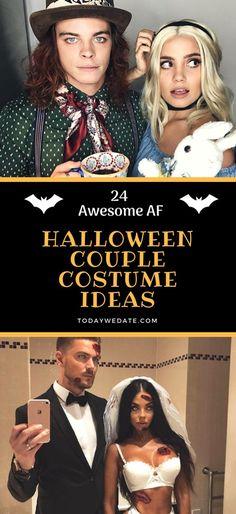 26 Best Halloween Couple Costume Ideas in 2018 Halloween Costumes - funny couple halloween costumes ideas