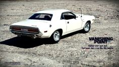 A Look Back at the Vanishing Point`s Star, the Beastly 1970 Dodge Challenger! - NO Car NO Fun! Muscle Cars and Power Cars! 2014 Dodge Challenger, Vanishing Point, Power Cars, American Muscle Cars, Car Photos, S Star, Mopar, Looking Back, Hot Wheels