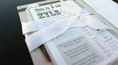 I love love love these invitations!! Leah Aldous | Custom Invitations & Design Work