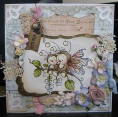 Sympathy Bugs [SZWS120] - $7.00 : Whimsy Stamps