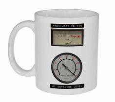 Dopamine Meter Coffee or Tea Mug