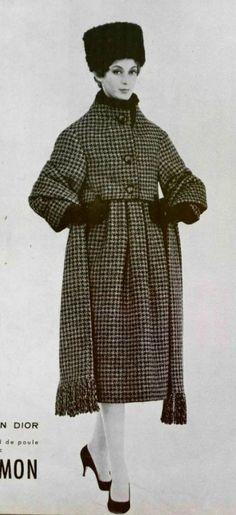 1958-59 - Yves Saint Laurent for Christian Dior