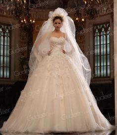 embroidery beaded satin strapless sweetheart bridal ball gown