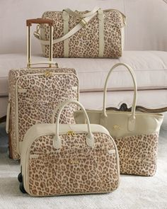 """Adventure"" Luggage by Terrida at Horchow."