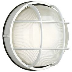 Oceanview Outdoor Wall Sconce Round by Philips Forecast Lighting at Lumens.com