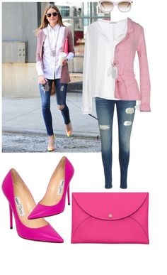 """""""street style by OliviaPalermo"""" by hannaalkaff on Polyvore"""
