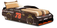 Drive into sweet dreams with the Furniture Row 78 Race Car Bed!